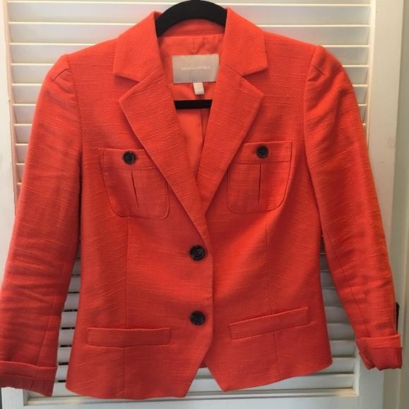 Banana Republic Jackets & Blazers - BR Orange Blazer